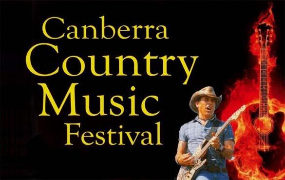 Poster: Canberra Country Music Festival (15-17 Nov 2013) [Info: visitcanberra.com.au/Events/Festivals-and-celebrations]
