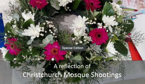 A reflection of Christchurch mosque shootings [Image: Bangla Radio]