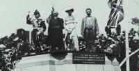 Canberra's Naming Ceremony by Lady Denman at Capitol Hill on 12 March 1913 [Photo: National Library of Australia]