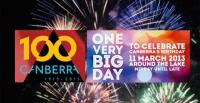 Canberra celebrates its 100th birthday on 11 March 2013 [Collage: www.canberra100.com.au]