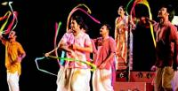 'Kaler Jatra' - a performance by Padatik Natya Sangsad at the Bangladesh Shilpakala Academy, Dhaka [Photo: Daily Star]
