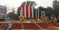 Shahid Minar on 21st February