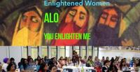 Enlightened Women - ALO You Enlighten Me - poster and event [Images: Dr. Lubna Alam]