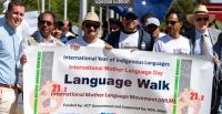 International Mother Language Day 2019 - Language Walk in Canberra [Photo: Ziaul Hoque Bablu]