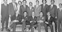 The 1971 Bangladesh Mission in Washington DC (Ambassador Syed Muazzem Ali is the third from the right standing) [Photo: daily-sun.com]